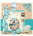 45.8114~ CURVED SQUARE FRAME ~ Leane Creatief Die
